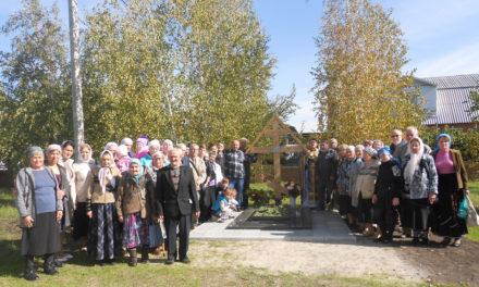 У Вознесенского храма с. Новобессергеневка установлен памятник на могиле почившего архимандрита Никона (Лысенко)