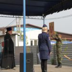 Духовник Таганрогского казачьего округа напутствовал молодых казаков перед сдачей нормативов по военно-спортивной подготовке