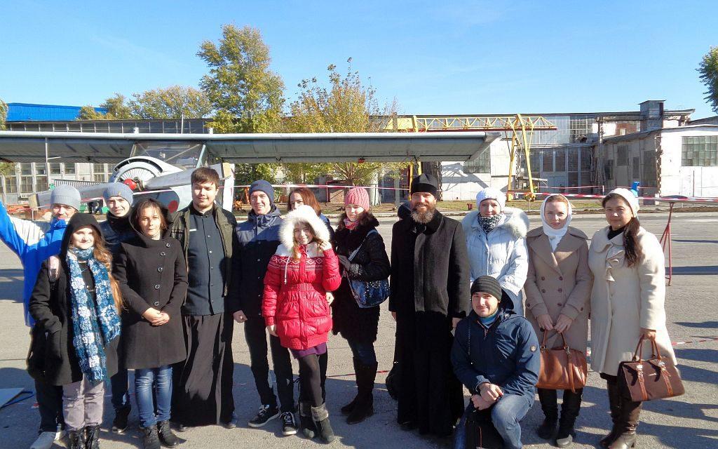 Православная молодежь Таганрогского благочиния посетили ТАНТК им. Г.М. Бериева
