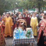 Крестовоздвиженский приход в селе Троицкое Таганрогского благочиния отметил престольный праздник