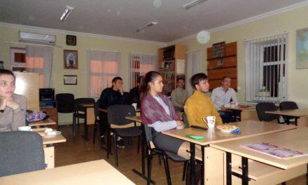 В молодёжном клубе «Лоза» Георгиевского прихода г. Таганрога состоялся очередной диспут на тему информационной безопасности