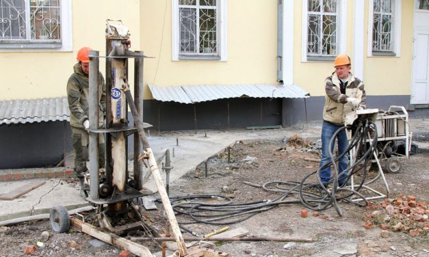 Завершены работы по укреплению фундамента таганрогского Никольского храма