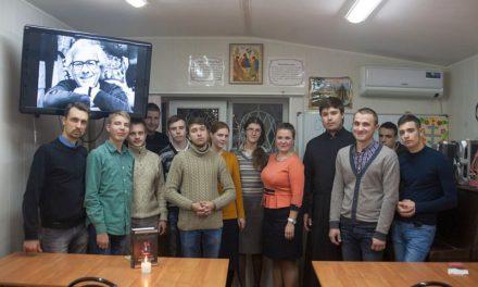 В воскресной школе Сергиевского храма г. Таганрога состоялось заседание общеблагочиннического православного молодежного культурно-просветительского клуба «Маяк»