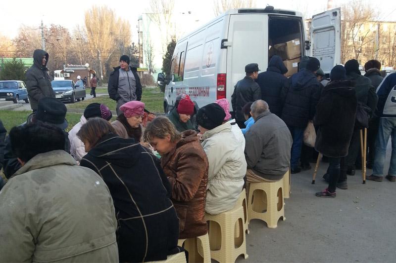Организаторами благотворительного автопробега «Надежда» совместно с Таганрогским благочинием была проведена акция по оказанию помощи бездомным
