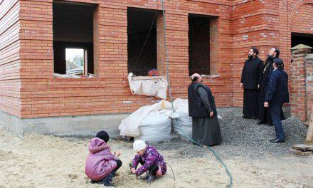 В Георгиевском храме Таганрога закончен каменно-монтажный цикл строительства Воскресной школы