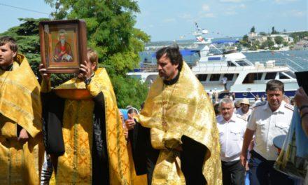 Икону св. Павла Таганрогского подарили Севастополю