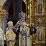 Митрополит Меркурий принял участие в торжественном богослужении в Храме Христа Спасителя в день 70-летия Святейшего Патриарха Кирилла