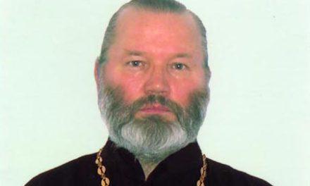 Почетный настоятель Крестовоздвиженского храма с. Троицкое протоиерей Владимир Катаев