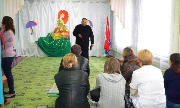 Настоятель Магдалининского храма с. Андреево-Мелентьево провел беседу с родителями воспитанников детского сада «Сказка»