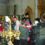 Ученики общеобразовательной школы посетили Свято-Покровский храм с. Покровское