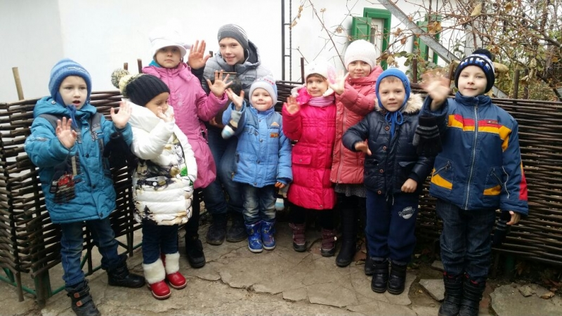 Воспитанники Воскресной группы Прихода Рождества Пресвятой Богородицы посетили келию праведного Павла Таганрогского