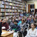 В рамках «Школы православного вероучения» состоялась открытая лекция протоиерея Александра Усатова