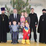 Прошла традиционная предновогодняя встреча клириков благочиния и сотрудников городского ОМОН