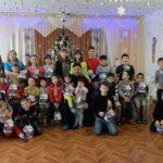 Настоятель Серафимовского храма г. Таганрога организовал детский праздник в городском Социальном приюте