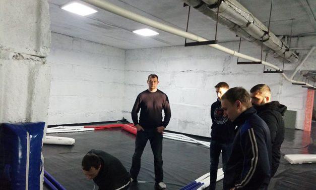 Православный спортивно-патриотический клуб «Ставрос» обзавёлся профессиональным рингом