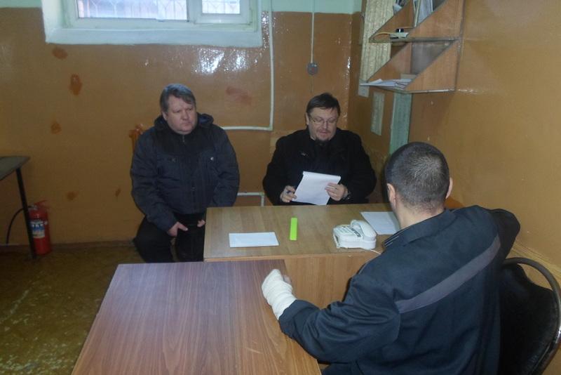 Настоятель Сергиевского храма Таганрога в составе Общественной наблюдательной комиссии посетил СИЗО-3 в Новочеркасске