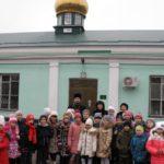 Учащиеся школы № 3 посетили храм прп. Сергия Радонежского г.Таганрога