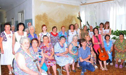 В таганрогском хосписе состоялся концерт, подготовленный Елизаветинским сестричеством