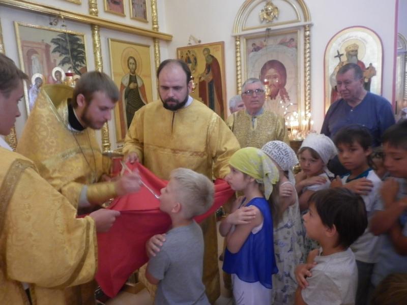 Завершилась вторая смена в детском православном лагере при Свято-Троицком храме Таганрога