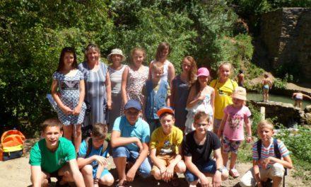 Завершила свою работу летняя детская площадка дневного пребывания Сергиевского храма Таганрога
