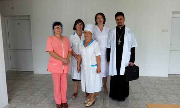 В день памяти равноапостольного князя Владимира настоятель Серафимовского прихода Таганрога посетил городской противотуберкулёзный диспансер