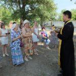 На территории строящегося в Таганроге Серафимовского храма отслужен молебен с акафистом святому
