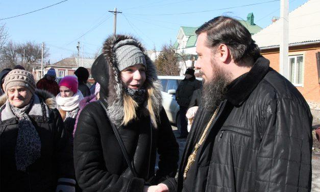 В Георгиевском храме г.Таганрога прошел праздник, посвященный Прощеному воскресенью