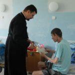 Настоятель Серафимовского прихода совершил молебен в противотуберкулёзном диспансере Таганрога