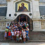 Воспитанники Воскресной школы Георгиевского храма Таганрога побывали с паломнической поездкой в Крыму
