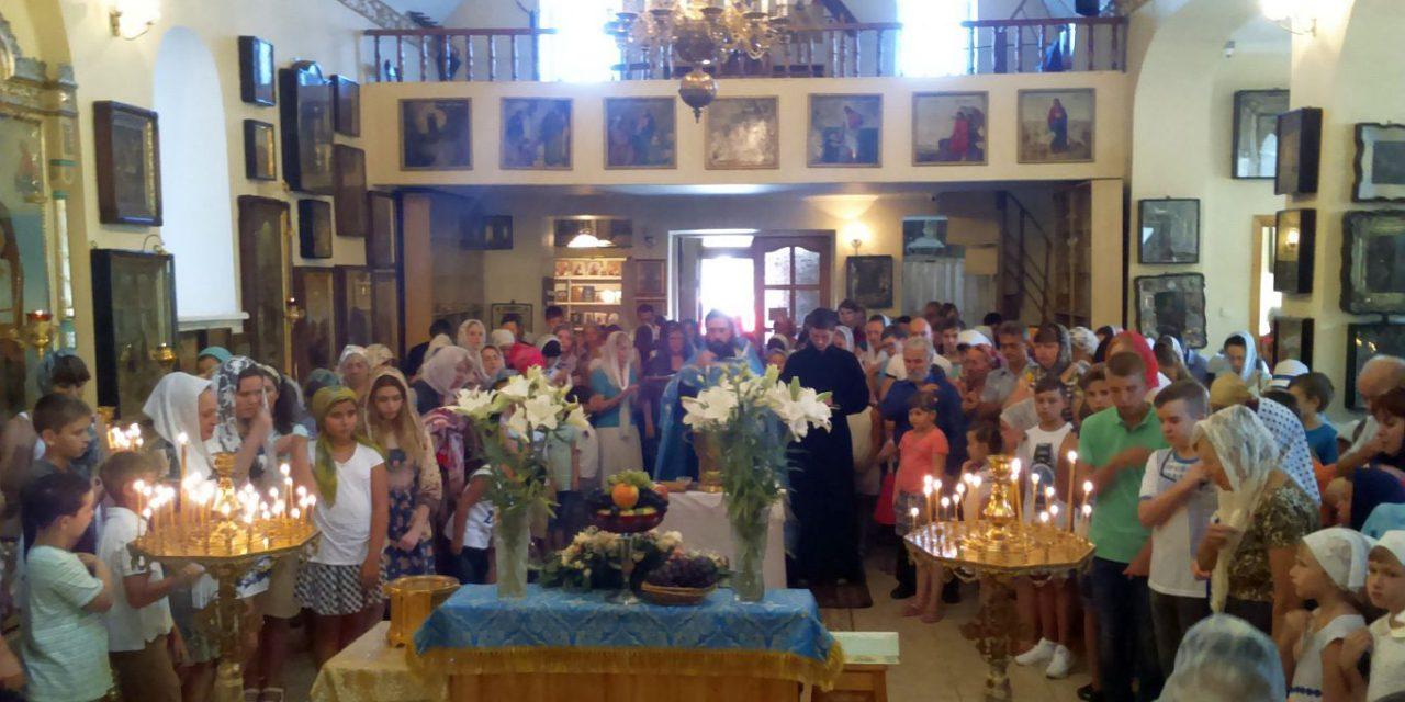 В таганрогском Георгиевском храме состоялся молебен перед началом нового учебного года