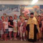 Клирик Сергиевского храма Таганрога совершил молебен в средней школе № 3