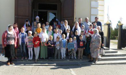Учащиеся Воскресной школы Сергиевского храма Таганрога совершили ежегодную паломническую поездку по святым местам города