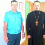 Клирик прихода Иерусалимской иконы Божией Матери Таганрога посетил пожарно-спасательную часть №23