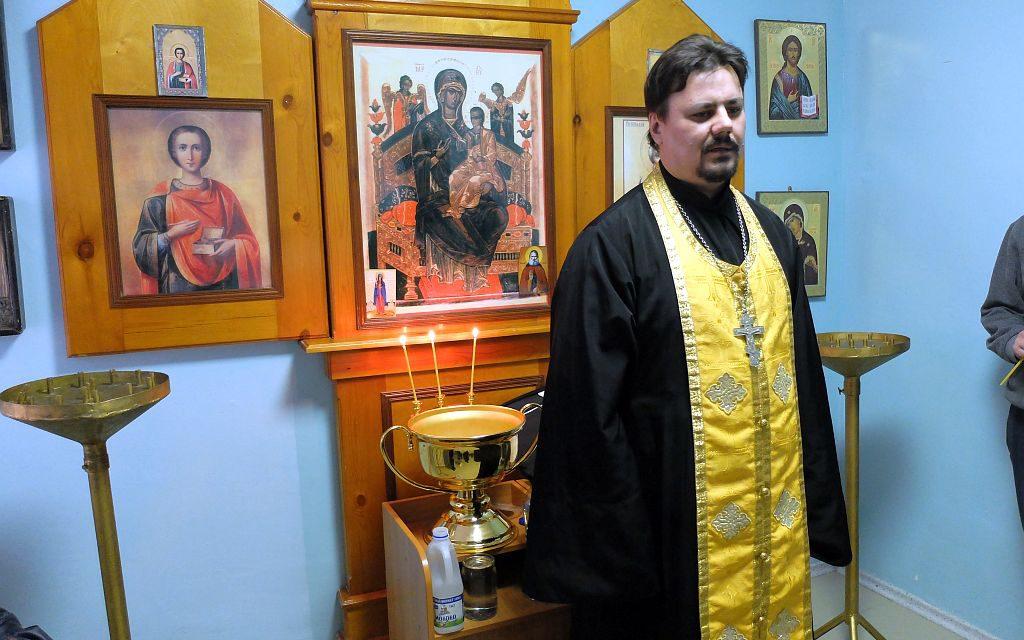 Клирик Таганрогского благочиния совершил молебен в городском противотуберкулёзном диспансере