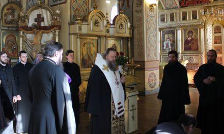 Митрополит Ростовский и Новочеркасский Меркурий посетил с рабочим визитом город Таганрог
