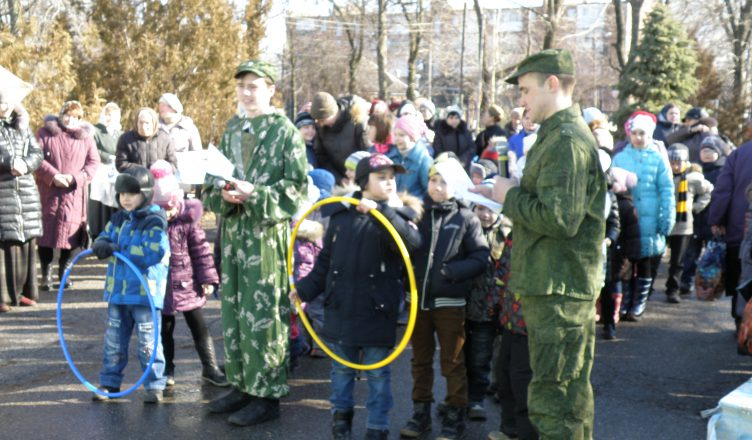 В Сергиевском приходе Таганрога прошел патриотический праздник