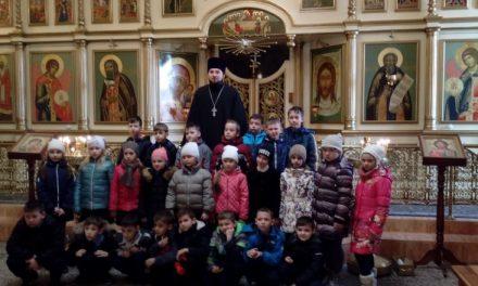 Учащиеся кадетского класса посетили Сергиевский храм Таганрога