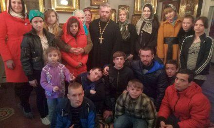 Воспитанники ростовской коррекционной школы-интерната № 41 посетили таганрогские святыни