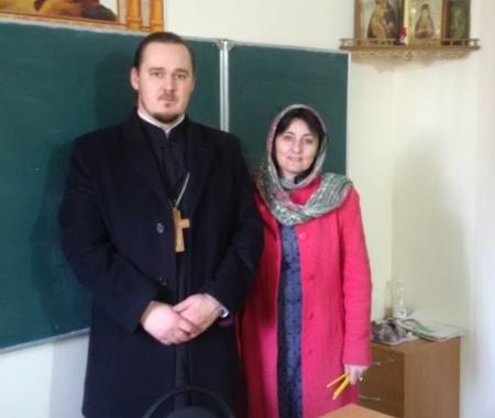 Клирик Одигитриевского прихода города и руководитель Совета родителей, воспитывающих детей-инвалидов, обсудили вопросы сотрудничества