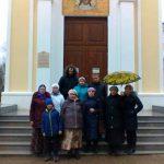 Прихожане Магдалининского храма с. Красный Десант совершили паломническую поездку в с. Петровка