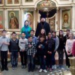 Учащиеся пятого класса средней школы № 5 посетили Сергиевский храм