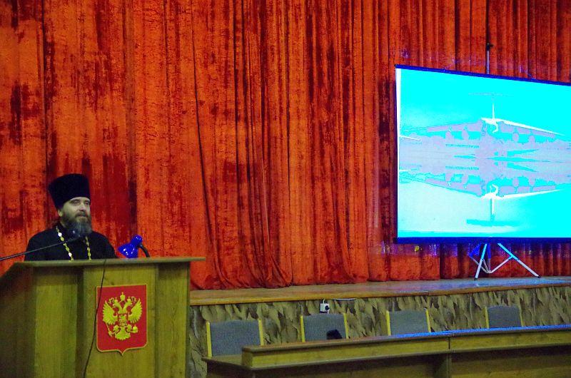 В Таганрогском гарнизоне состоялась очередная встреча помощника благочинного с личным составом части