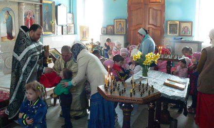 Магдалининский храм с. Андреево-Мелентьево посетили воспитанники детского сада «Сказка»