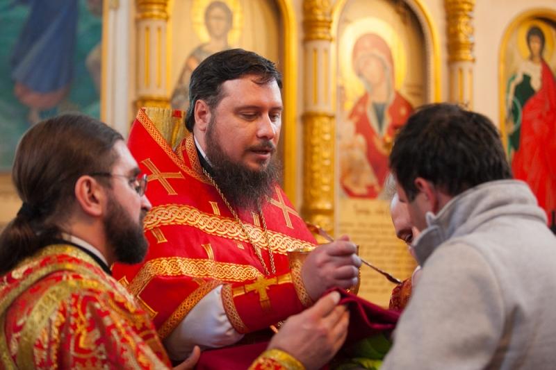 Пасхальное поздравление благочинного приходов Таганрогского округа протоиерея Алексея Лысикова