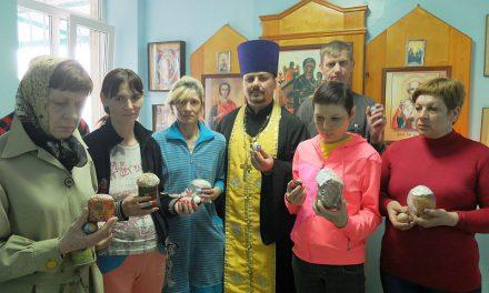 Настоятель Серафимовского прихода провел праздничное богослужение в таганрогском туберкулезном диспансере