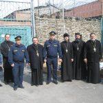 Клирики Таганрогского благочиния поздравили заключенных таганрогского СИЗО-2 с праздником Пасхи