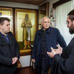 Василий Лановой посетил келью праведного Павла Таганрогского