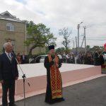Настоятель Вознесенского храма с. Новобессергеневка принял участие в памятных мероприятиях в День Победы