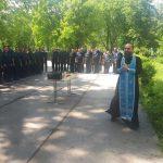 Помощник благочинного Таганрогского округа освятил штаб эскадрилий воинской части