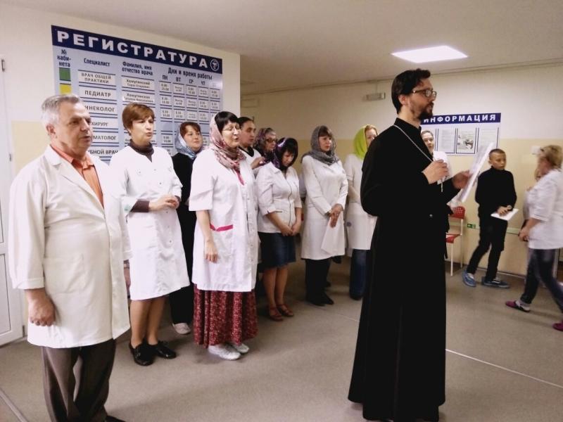 Представители общества православных врачей провели консультации в селе Натальевка Неклиновского района
